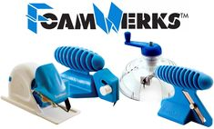 Foamwerks Foam Board Cutters: The Perfect Tools for Custom Cutting Mounting Boards Foam Board Crafts, Creative Crafts, Art Supplies, Nerf, Gadgets, Boards, Museum, Crafty, Tools