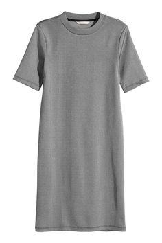 Žebrované šaty | H&M