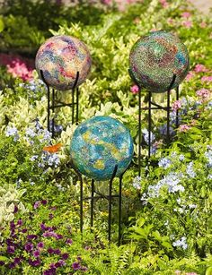 *garden globes
