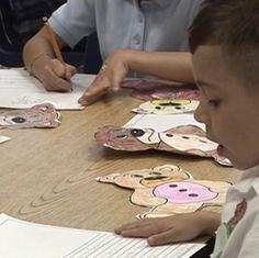 Making Teddy Bears is an activity which can increase motivation for writing. The students are asked to create their own bears, based off of a story, and then descriptively write about their bear. With this in mind, the students are motivated with the hands on task and writing piece.