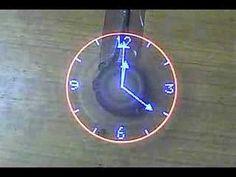 A new take on the POV clocks - that I really like a lot.