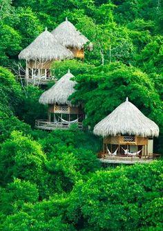 The Tayrona National Natural Park, Colombia: