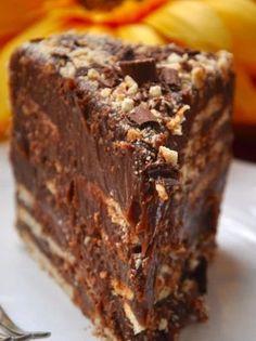 Aprenda a fazer torta de palha italiana, uma ótima opção de sobremesa. Sweet Recipes, Cake Recipes, Dessert Recipes, Gourmet Desserts, Plated Desserts, Chocolate Recipes, Yummy Cakes, Love Food, Cupcake Cakes