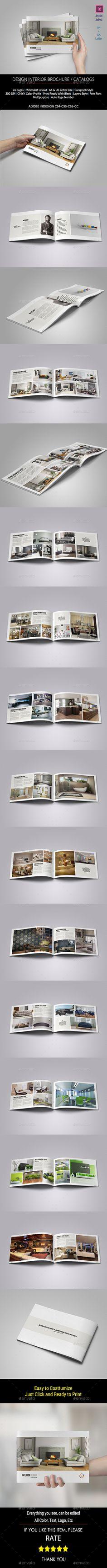 Interior Brochure / Catalogs / Portfolio Design Template #brochure Download: http://graphicriver.net/item/interior-brochure-catalogs-portfolio/11375181?ref=ksioks