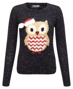 """""""Owl see you at Christmas"""" by cherypi on Polyvore featuring Lipsy"""