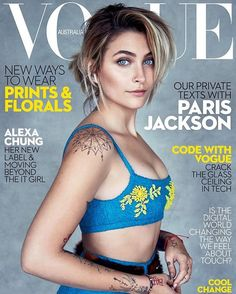 New issue on sale now featuring @parisjackson wearing @prada. Styled by @christinecentenera and photographed by @patrickdemarchelier interviewed over text by @alison_veness. Click on the link in the bio to see more in the issue or to subscribe   via VOGUE AUSTRALIA MAGAZINE OFFICIAL INSTAGRAM - Fashion Campaigns  Haute Couture  Advertising  Editorial Photography  Magazine Cover Designs  Supermodels  Runway Models
