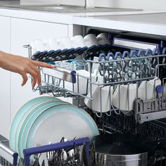 Does this sound familiar? Sliding movement of the baskets in the dishwasher sometimes causes your dishes to hit each other which can mean you can get cracks and fractures. Beko dishwashers offer a smart feature by smoothing this sliding action. The rail system with ball bearing, allows the movement of the basket more smoothly and safely.   #beko #dishwasher #SmartSolutions #SmoothMotionBasket