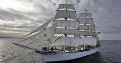 Harlingen (NL) – Arendal  Sailing a tall ship!