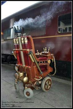 Steampunk chair