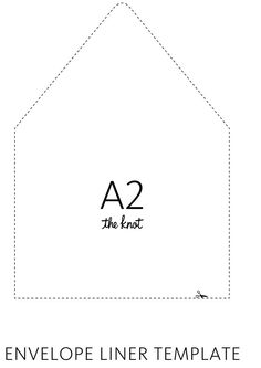 Envelope Liner Template  Envelopes Envelope Liners And Templates