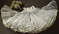 Petticoat mit Spitzenbund 4 Farben von petticoatwelt auf Etsy