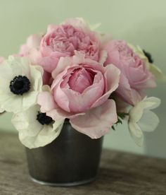anemones and peonies: two of my very favorites.