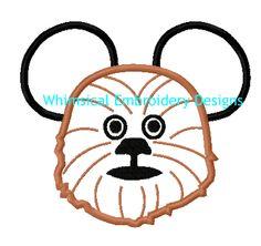 Mickey Chewbacca