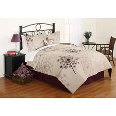 This is the comforter I finally chose.  Hometrends Shona Comforter Set - Walmart