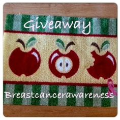 Win a Pink Ribbon Welcome Mat from Carpet One Floor & Home