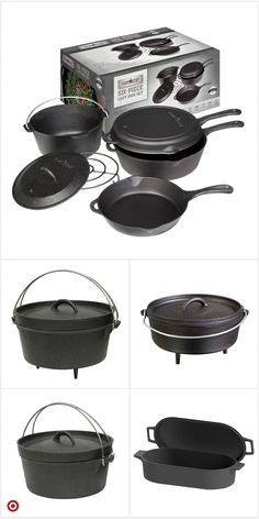 Shop Target for camp Cast Iron Cooking, Oven Cooking, Cooking Tools, Camping Survival, Camping Meals, Survival Prepping, Camping Hacks, Dutch Oven Camping, Cast Iron Cookware