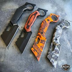 Straight Edge Razor Fixed Blade Cleaver TANTO Hunting Tactical Knife Karambit Pretty Knives, Cool Knives, Knives And Swords, Straight Edge, Knife Template, Collector Knives, Cleaver Knife, Knife Patterns, Tactical Knives