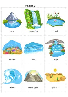 Kids Pages - Nature 3 Learning English For Kids, English Lessons For Kids, English Worksheets For Kids, Kids English, English Activities, English Language Learning, English Study, Teaching English, Spanish Language