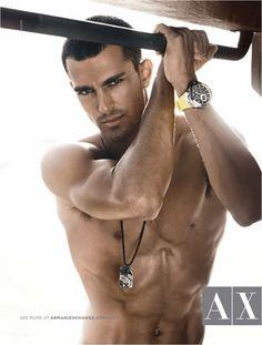Clint Mauro for Armani Exchange - MM Scene : Male Model Portfolios : Male Models Online