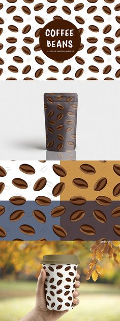 We publish a useful set - Coffee Beans Vector Free Seamless Pattern. This is a thematic seamless pattern in 4 colors. You can create designs of various