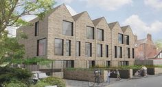 Abingdon housing by Ben Adams Architects