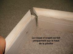 Plinthes et coupes d'onglet | Bois+ Le Bouvet