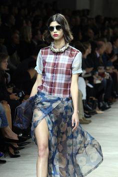 Love the skirt  Dris Von Notten Spring 2013