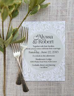 #WishtreeInvites WHITE by Wishtree | Wedding Invitations | Wedding Suite | Custom Couture Invitations & Stationery | Laura Kelly Photography | www.wishtreeinvites.com