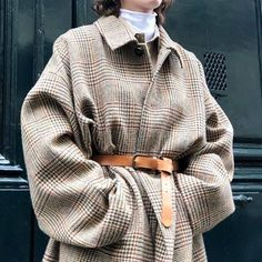 Oversize and Belted