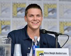 """Actor Alex Hogh Andersen attends the """"Vikings"""" panel during San Diego Comic-Con International 2017 at San Diego Convention Center on July 21, 2017 in San Diego, California."""