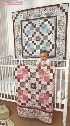 cute baby quilt/ lap quilt  border fabric called boabab