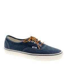 Vans® for J.Crew washed canvas sneakers