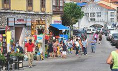 Detalle de las calles cercanas al puerto