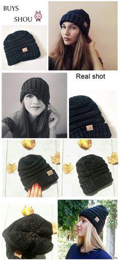 84c559671508 2018 Skullies Beanies Winter Hat For Women Warm Hat Fashion Knitting Warm  Cap Warm Wool Hat Cap Leisure Fashion Winter Hats