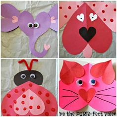 Valentine's card Valentine's Working day is considered considered one of my most loved instances to share with my spouse and children and unique pals e Valentine Crafts For Kids, Valentines Day Activities, Homemade Valentines, Holiday Crafts, Crafts To Make, Fun Crafts, Arts And Crafts, Decoration St Valentin, Valentines Day History