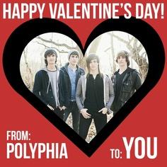 Polyphia on Valentine's day. :D