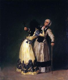 """The Duchess of Alba and """"la Beata"""" is a small 1795 oil on canvas painting by the Spanish artist Francisco Goya. Francisco Goya, Spanish Painters, Spanish Artists, Goya Paintings, Art Espagnole, Art Database, Oeuvre D'art, Great Artists, Art Pictures"""