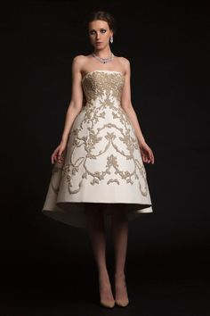 Krikor Jabotian Couture Spring/Summer 2015 Could this be more reminiscent of Ashi Studio?