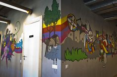 21 incredibly cool design office murals   Creative Bloq