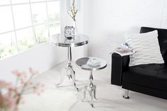 Malý stolík SAVOY. Nábytok Reaction. Design Baroque, Petites Tables, Aluminium, Decoration, Furniture, Modern, Authentique, Home Decor, Chic