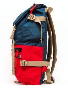 Topo Designs rygsæk navy rød