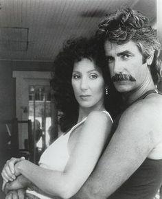 "Cher & Sam Elliot in ""Mask"",Director: Peter Bogdanovich(1985)"