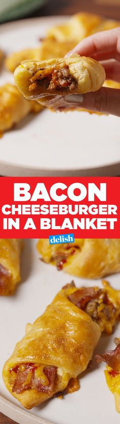 The Best Way To Eat A Burger During Winter: In A Blanket!