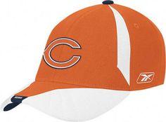 Chicago Bears flextfit hat Reebok new with stickers OSFA NFL Da Bears Football #ChicagoBears #DaBears #Bears #NFL #NFLHats #Flexfit #Reebok #ReebokHats #MarvelousMarvs