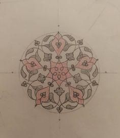 - New Deko Sites Arabesque Pattern, Turkish Art, Islamic Calligraphy, Islamic Art, Tangled, Pattern Design, Zentangle, Mandala, Projects To Try