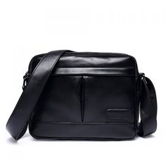 Leisure PU Leather and Black Color Design Men's Messenger Bag #>=#>=#>=#>=#> Click on the pin to check out discount price, color, size, shipping, etc. Save and like it!