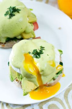 Avocado Hollandaise takes your Eggs Benedict to a new level. You'll be making it this way from now on!