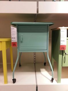 Spotted @ IKEA I have 2 have this!!! Bedside Table Ikea, Ikea I, Magazine Rack, Cabinet, Storage, Furniture, Home Decor, Clothes Stand, Purse Storage