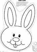 Bunny head pattern: Pattern, Pasen Topic, Kids, Easter Bunny, Eye