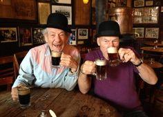 Sir Patrick Stewart e Sir Ian Mckellen a New York 04